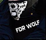 Защитная маска Бафф FDR Wolf Black, фото 2