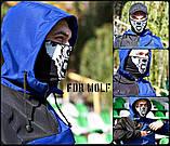 Защитная маска Бафф FDR Wolf Black, фото 3
