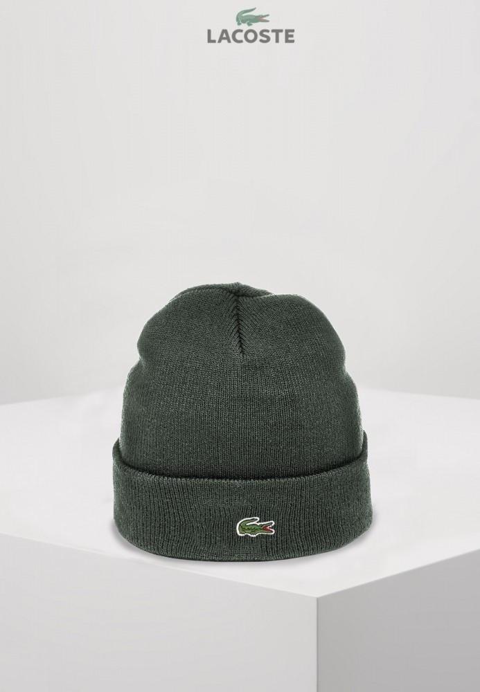 Lacoste шапка унисекс (Серая)