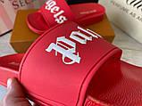 Palm Angels Sliders Logo Red, фото 4