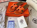 Hermes Oran Sandal H Croco Red, фото 7
