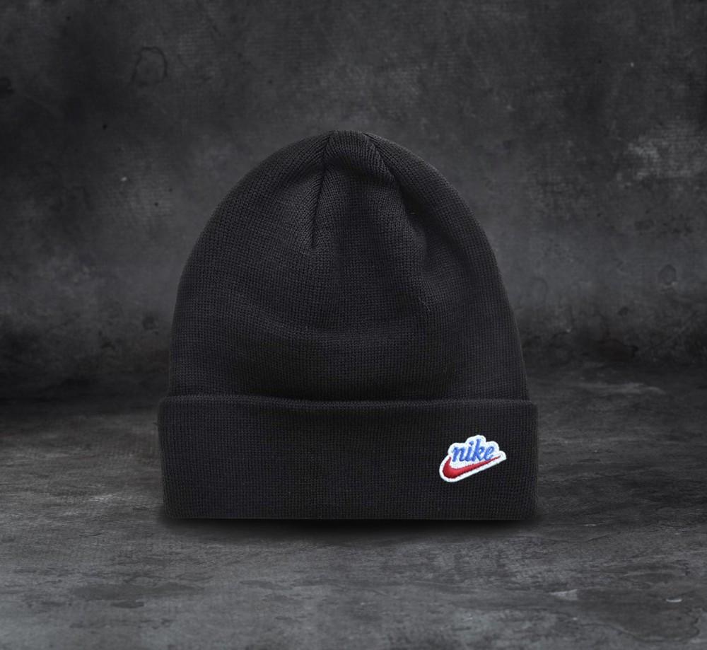 Nike шапка унисекс (Черная)