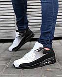 Мужская Обувь АирМах нью Черно-белые, фото 2