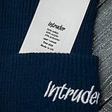 "Шапка "" Intruder "" синяя small logo, фото 2"