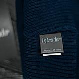 "Шапка "" Intruder "" синяя small logo, фото 3"