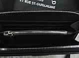 Кошелек Karl Lagerfeld из экокожи черный, фото 5
