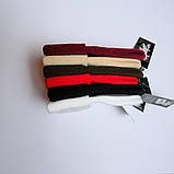Шапка трикотажная двуслойная чёрная L19001, фото 5