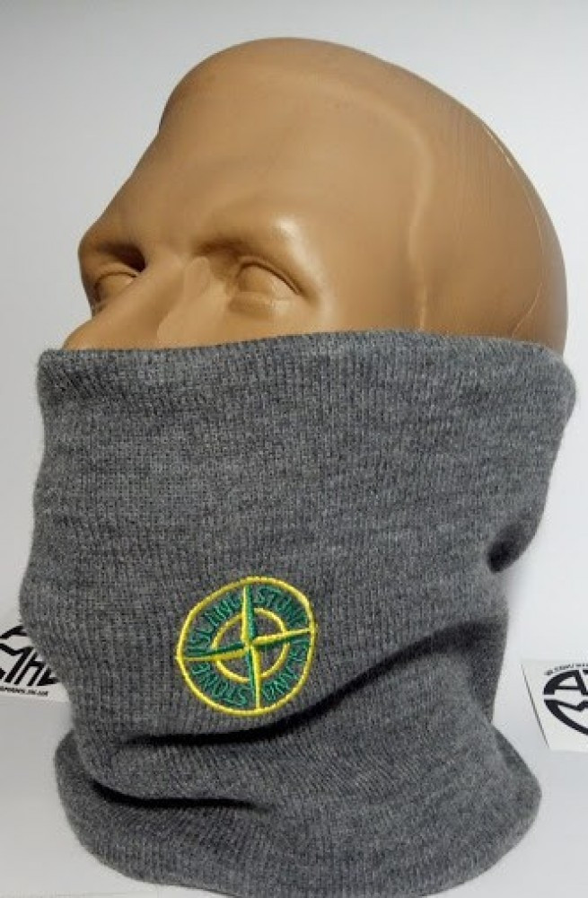 Защитная маска Бафф Stone Island Grey