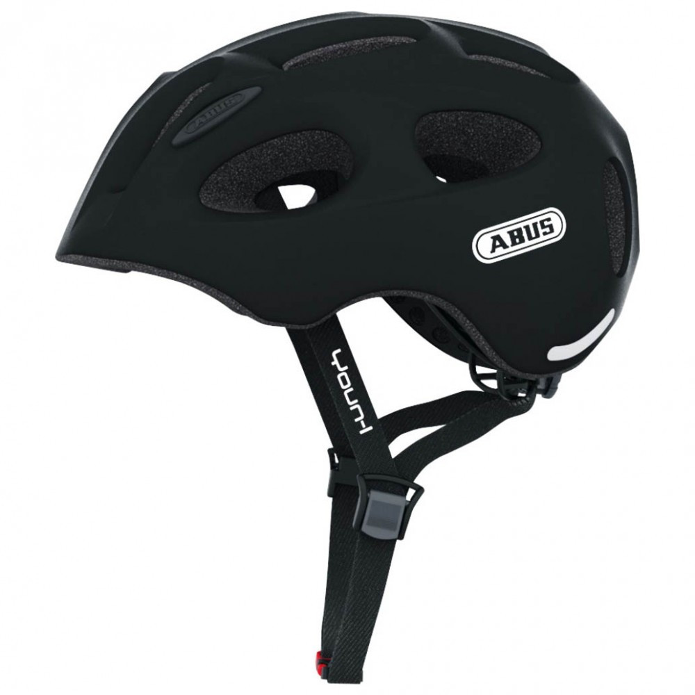 Велосипедний дитячий шолом ABUS youn-I M 52-57 Velvet Black 128073