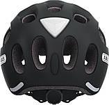 Велосипедний дитячий шолом ABUS youn-I M 52-57 Velvet Black 128073, фото 3