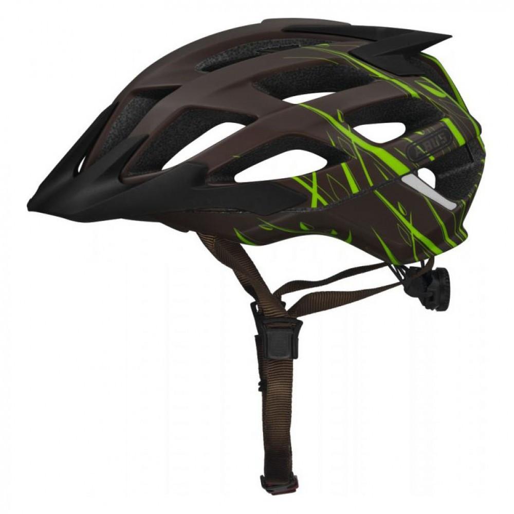 Шолом велосипедний ABUS hill bill L 57-61 Grasshopper 587153