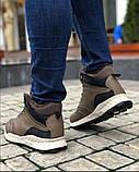 Мужские Ботинки Хорошо Хаки Зима, фото 3