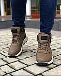 Мужские Ботинки Хорошо Хаки Зима, фото 4