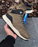 Мужские Ботинки Хорошо Хаки Зима, фото 5