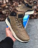 Мужские Ботинки Хорошо Хаки Зима, фото 6