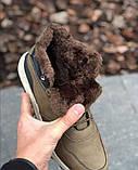 Мужские Ботинки Хорошо Хаки Зима, фото 7