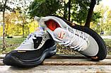 Кросівки Nike Airmax чорно-сірі, фото 2