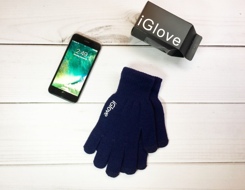 Перчатки iGlove dark blue