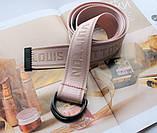 Тренд сезона тканевый ремень Louis Vuitton Rose, фото 2