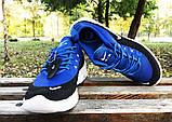 Кроссовки Nike Airmax черно-синие, фото 2