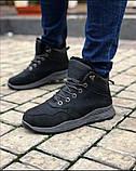 Мужские Ботинки Хорошо черные Зима, фото 3