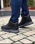 Мужские Ботинки Хорошо черные Зима, фото 4