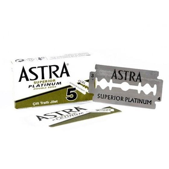 Лезвия двусторонние Astra Superior Platinum 5шт