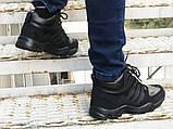 Зимние кроссовки Adidas black, фото 4