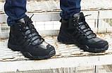 Зимние кроссовки Adidas black, фото 5