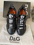Сникеры Dolce Gabbana Portofino Black, фото 5