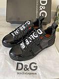 Сникеры Dolce Gabbana Portofino Black, фото 6