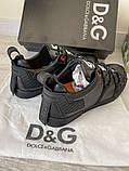 Сникеры Dolce Gabbana Portofino Black, фото 7