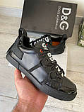 Сникеры Dolce Gabbana Portofino Black, фото 8