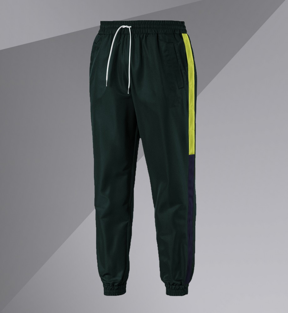 Спортивні штани/Pants with side stripe (Зелені)