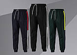 Спортивні штани/Pants with side stripe (Зелені), фото 2