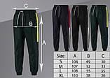 Спортивні штани/Pants with side stripe (Зелені), фото 3