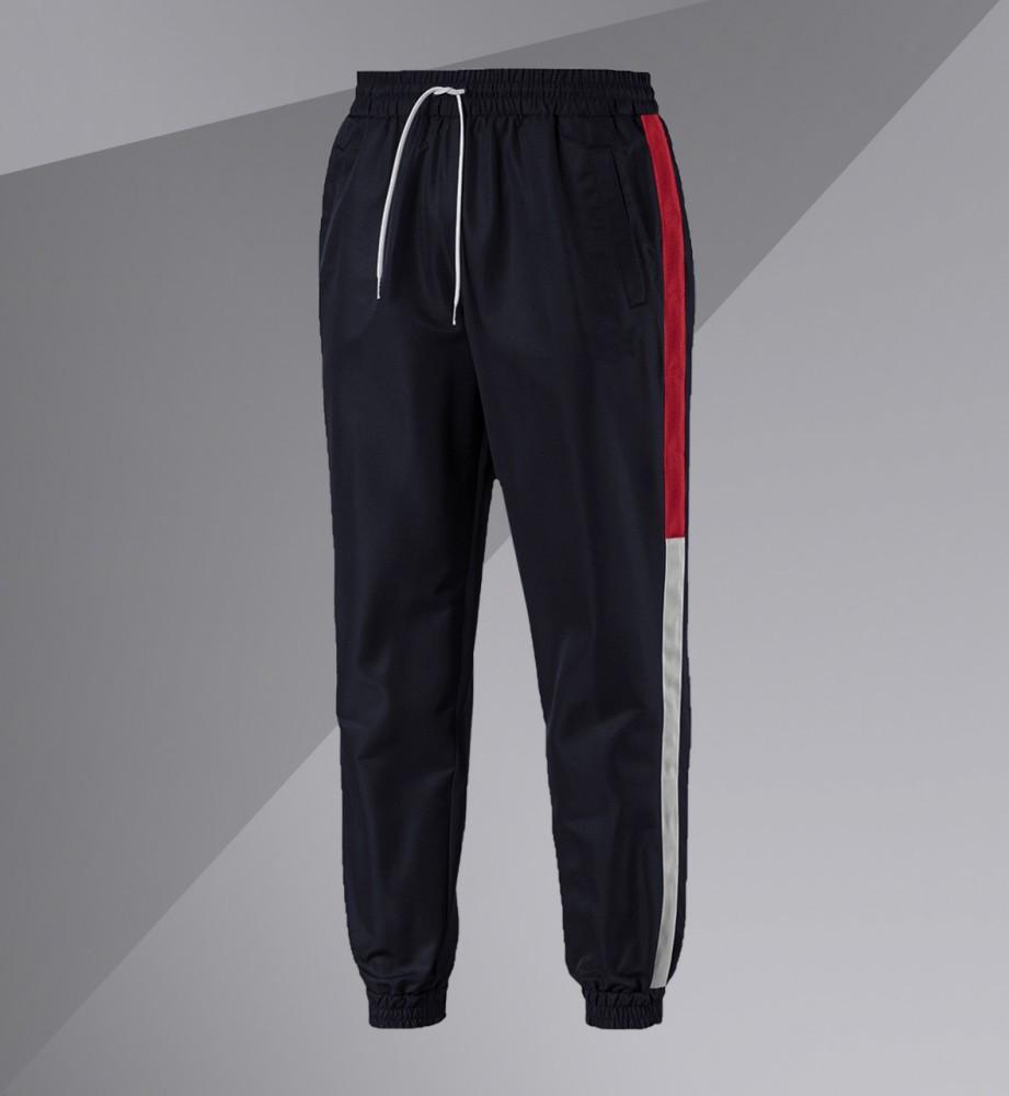 Спортивні штани/Pants with side stripe (Темно-сині)