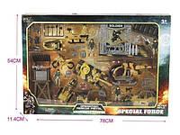 Игровой набор военной техники: танк, машинки, оружие, фигурки солдатиков, аксессуары