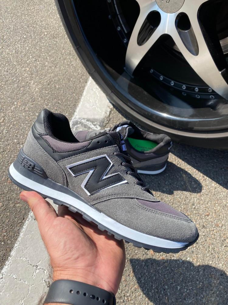 Кроссовки New Balance 574 Grey/Black