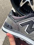 Кроссовки New Balance 574 Grey/Black, фото 2