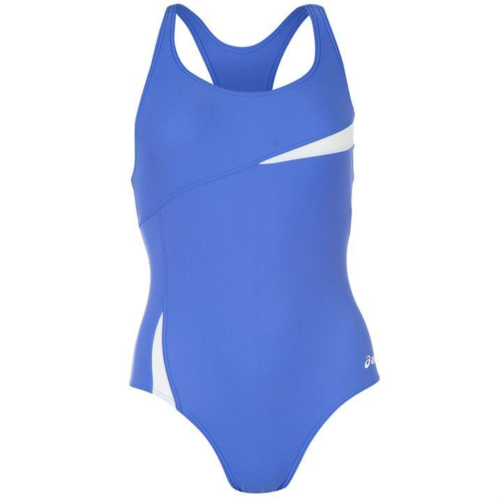 Купальник женский для плавания Asics Yemaya голубой