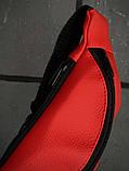 Бананка Calvin Klein червона змійка пластик, фото 2