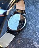 Часы Emporio armani leather Black, фото 3