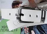Кожаный ремень для джинсов Calvin Klein белый, фото 2