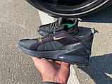 Кроссовки Nike Air 270 Black/Gold, фото 2