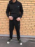 Трикотажный спортивный костюм Lacoste (Черный), фото 2