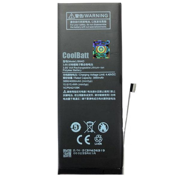 Батарея CoolBatt для Xiaomi BM4D Mi 8 (2000000034836)