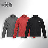 Флисовая кофта The North Face (Красная), фото 2