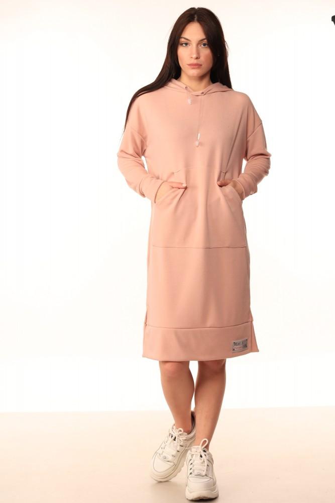 Платье-Худи Quest Wear пудра