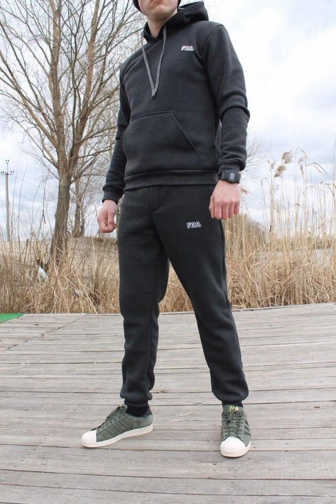 Трикотажний спортивний костюм Fila (Сірий)